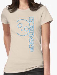 Dirt Nap Vert Logo Womens Fitted T-Shirt