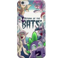 Return of the Bats! iPhone Case/Skin