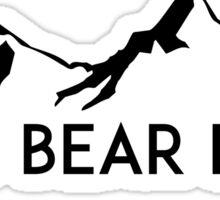 BIG BEAR LAKE CALIFORNIA Skiing Ski Mountain Mountains Snowboard Boating Hiking Sticker