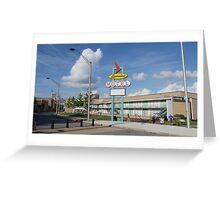 Lorraine Motel Memphis Tenn. Greeting Card