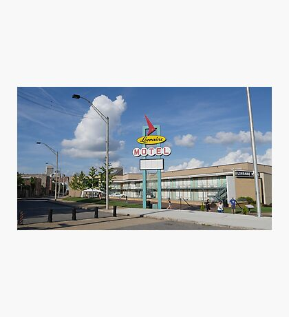 Lorraine Motel Memphis Tenn. Photographic Print
