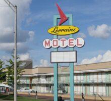 Lorraine Motel Memphis Tenn. Sticker