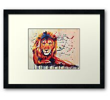 Quiet Ferocity Framed Print