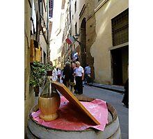 Italian wine Photographic Print