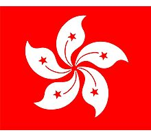 Flag of Hong Kong Photographic Print