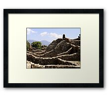 The Houses of Ruins Framed Print