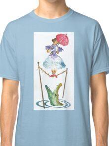 Perilous Pink Parasol - Stretching Portrait Classic T-Shirt