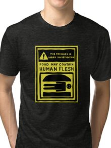 The Burgers Are People! Tri-blend T-Shirt