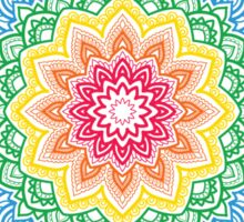 Rainbow Mandala Sticker