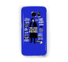 DETECTIVE QUOTES Samsung Galaxy Case/Skin