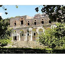 Pompeii Ruins Photographic Print