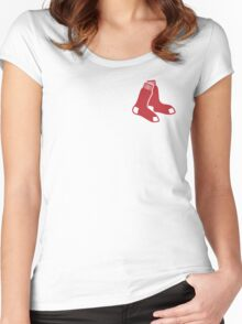 America's Game - Boston Red Sox Women's Fitted Scoop T-Shirt