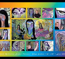 Chalk Meditation #13 • Montage • June 2007 by Robyn Scafone