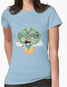 ~ Poke-Ball Z ~ Womens Fitted T-Shirt