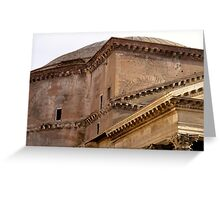 The Pantheon Architecture Greeting Card