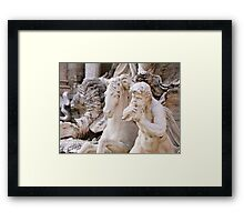 Trevi Fountain Framed Print