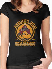 master uzumaki naruto  Women's Fitted Scoop T-Shirt