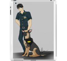 Cop Sousuke iPad Case/Skin