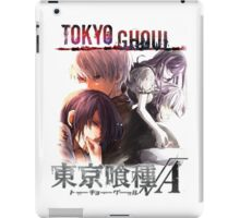 T G reflections monochrome text iPad Case/Skin