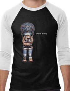Smile Baby - Retro Tee Men's Baseball ¾ T-Shirt