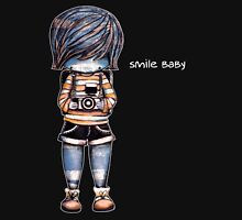 Smile Baby - Retro Tee Womens Fitted T-Shirt