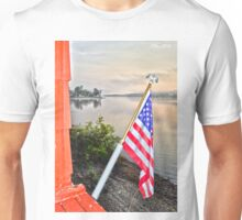 Home of the Flagman Unisex T-Shirt