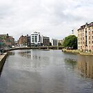 A View of Water of Leith by ValeriesGallery