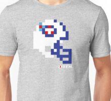 Tecmo Bowl - Tennessee - 8-bit - Mini Helmet shirt Unisex T-Shirt
