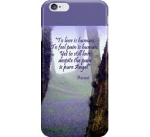 Bluebells and Rumi iPhone Case/Skin