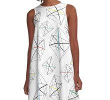 Geo Pattern A-Line Dress