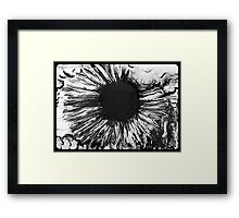 Heat is Smokin Framed Print