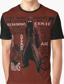 Deadly Premonition - Raincoat Killer Graphic T-Shirt