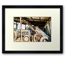 Farm History Framed Print
