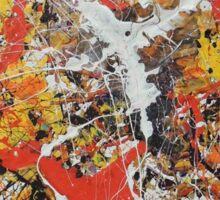 Residual III (Autumn's Reminiscence) Sticker