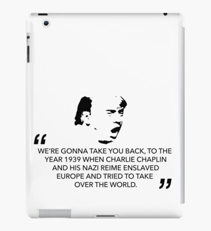 History Repeats Itself iPad Case/Skin