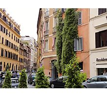 Crazy Roman Streets Photographic Print
