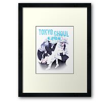 lost in thought blue kaneki Framed Print