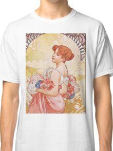 Alphonse Mucha - Etesummer Classic T-Shirt