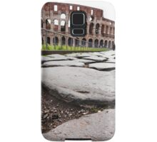 Stepping towards the Colosseum Samsung Galaxy Case/Skin