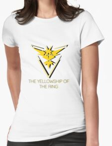Team Instinct - The Yellowship of The Ring Womens Fitted T-Shirt