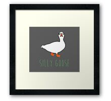 Silly Goose Framed Print