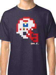 Tecmo Bowl - New England - 8-bit - Mini Helmet shirt Classic T-Shirt