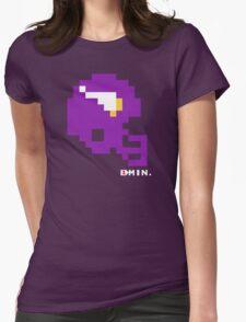 Tecmo Bowl - Minnesota - 8-bit - Mini Helmet shirt Womens Fitted T-Shirt