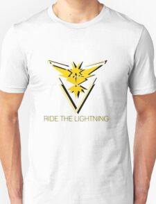 Team Instinct - Ride The Lightning Unisex T-Shirt