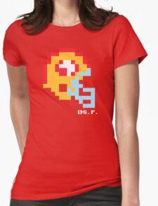 Tecmo Bowl -San Francisco - 8-bit - Mini Helmet shirt Womens Fitted T-Shirt