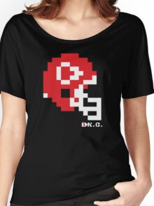 Tecmo Bowl - Kansas City - 8-bit - Mini Helmet shirt Women's Relaxed Fit T-Shirt