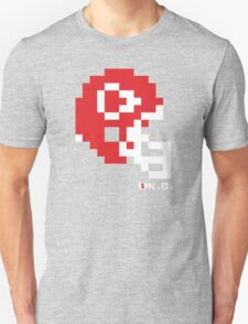 Tecmo Bowl - Kansas City - 8-bit - Mini Helmet shirt Unisex T-Shirt