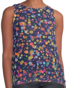 Dots, Dots and More Dots Contrast Tank
