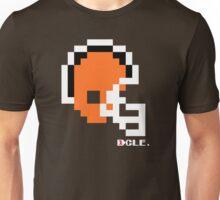 Tecmo Bowl - Cleveland - 8-bit - Mini Helmet shirt Unisex T-Shirt
