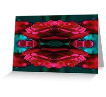 rose print Greeting Card